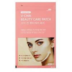 WOOSHIN LABOTTACH V-CHIN BEAUTY CARE PATCH ( 2 UNIDADES)
