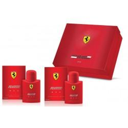 comprar perfumes online hombre FERRARI SCUDERIA RED EDT 75 ML + A/S 75 ML SET REGALO