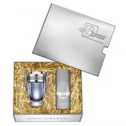 comprar perfumes online hombre PACO RABANNE INVICTUS EDT 100 ML + DEO VAPO 150 ML SET REGALO