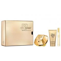 comprar perfumes online PACO RABANNE LADY MILLION EDP 50 ML+ B/L 75 ML +MINI 10 ML SET REGALO mujer