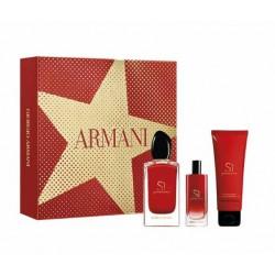 comprar perfumes online GIORGIO ARMANI SÌ PASSIONE EDP 100 ML + EDP 15 ML + B/L 75 ML SET REGALO mujer