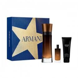 comprar perfumes online hombre GIORGIO ARMANI CODE PROFUMO EDP 110 ML VP + MINI 15 ML + GEL 75 ML SET REGALO