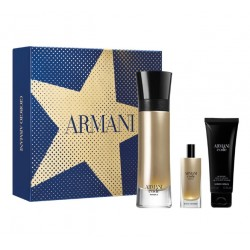 comprar perfumes online hombre ARMANI CODE ABSOLU EDP 110 ML + MINI 15 ML + S/GEL 75 ML SET REGALO