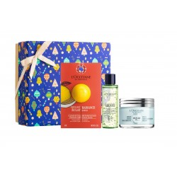 L'OCCITANE EN PROVENCE CREMA AQUA RÉOTIER 50 ML + MASCARILLA LUMINOSIDAD 6 ML + GEL LIMPIADOR 30 ML SET REGALO