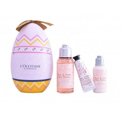 L'OCCITANE EN PROVENCE FLOR CEREZO LOCIÓN CORPORAL 35 ML + GEL DUCHA 75 ML + CREMA MANOS 10 ML SET REGALO
