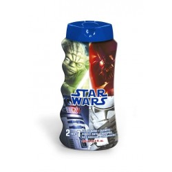 STAR WARS GEL & CHAMPÚ 2 EN 1 475 ML