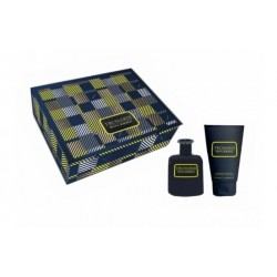 comprar perfumes online hombre TRUSSARDI RIFLESSO BLUE VIBE UOMO EDT 50 ML + S/G 100 ML SET REGALO
