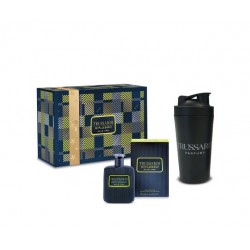 comprar perfumes online hombre TRUSSARDI RIFLESSO BLUE VIBE UOMO EDT 100 ML + BOTELLA SPORT SET REGALO