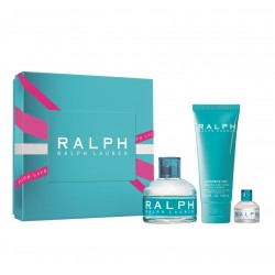 RALPH LAUREN RALPH EDT 100 ML VP. + B/L 100 ML + MINI 7 ML SET REGALO