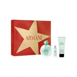 comprar perfumes online GIORGIO ARMANI ACQUA DI GIOIA EDP 100 ML + B/L 75 ML + MINI 15 ML SET REGALO mujer