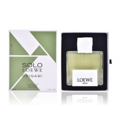 comprar perfumes online hombre LOEWE SOLO LOEWE ORIGAMI EDT 100 ML