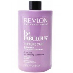 REVLON BE FABULOUS CURLY CONDITIONER 750ML