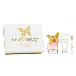 ARISTOCRAZY WONDER EDT 80 ML + B/L 75 ML + MINI 10 ML SET REGALO