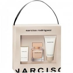comprar perfumes online NARCISO RODRIGUEZ NARCISO POUDREE EDP 50 ML + B/CREAM 50 ML + VELA 40 GR SET REGALO mujer