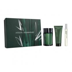 comprar perfumes online hombre ADOLFO DOMINGUEZ BAMBU EDT 120ML + GEL 75 ML + MINI 20 ML SET REGALO