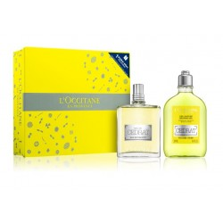 comprar perfumes online hombre L'OCCITANE EN PROVENCE EAU DE TOILETTE CÉDRAT EDT 75 ML + SHOWER GEL 250 ML SET REGALO