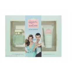 comprar perfumes online ANTONIO BANDERAS QUEEN OF SEDUCTION EDT 50 ML + B/L 50 ML SET REGALO mujer