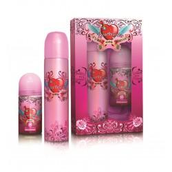 comprar perfumes online CUBA HEARTBREAKER EDP 100 ML + DEODORANT 50ML SET mujer