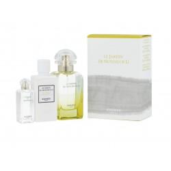 comprar perfumes online unisex HERMES LE JARDIN DE MONSIEUR LI EDT 50 ML + B/L 40 ML + S/G 40 ML SET REGALO