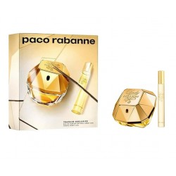 comprar perfumes online PACO RABANNE LADY MILLION EDP 80 ML + MINI 20 ML SET REGALO mujer