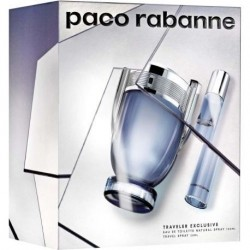 comprar perfumes online hombre PACO RABANNE INVICTUS EDT 100 ML + MINI 20 ML SET REGALO