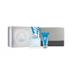 comprar perfumes online hombre AZZARO CHROME POUR HOMME EDT 50 ML + GEL 50 ML + NECESER SET REGALO