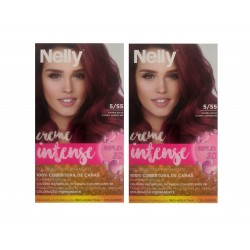 NELLY PACK TINTE 5/55 CAOBA ROJO