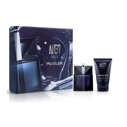 comprar perfumes online hombre THIERRY MUGLER ALIEN MAN EDT 50 ML + HAIR AND BODY SHAMPOO 50 ML SET REGALO