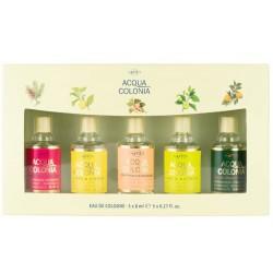comprar perfumes online 4711 x 8 ML 5 MINIATURAS SET REGALO IDEAL BODAS Y BAUTIZOS mujer