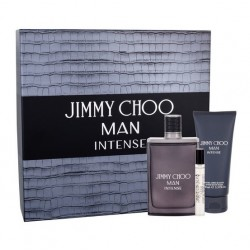 JIMMY CHOO MAN INTENSE EDT 100 ML + A/S BALM 100 ML + MINI 7.5 ML SET REGALO