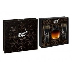 MONTBLANC LEGEND NIGHT EDP 100 ML + A/S BALM 100 ML + SHOWER GEL 100 ML SET REGALO