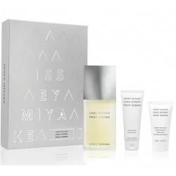 comprar perfumes online hombre ISSEY MIYAKE L´EAU D´ISSEY HOMME EDT 125 ML + S/G 75 ML +A/S 50 ML SET REGALO