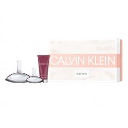 comprar perfumes online CALVIN KLEIN EUPHORIA WOMAN EDP 100 ML + B/L 100 ML + MINI 30 ML SET REGALO mujer
