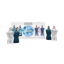 comprar perfumes online hombre JEAN PAUL GAULTIER LE MALE SET MINIATURAS
