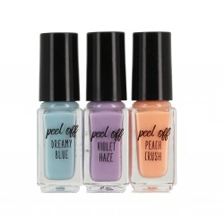 SOKO READY PEEL OF NAIL POLISH 3 x 4 ML