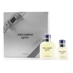 comprar perfumes online hombre DOLCE & GABBANA LIGHT BLUE POUR HOMME EDT VAPO 125 ML + EDT 40ML VAPO SET REGALO
