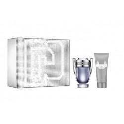 comprar perfumes online hombre PACO RABANNE INVICTUS EDT 100 ML + S/GEL 100 ML SET REGALO