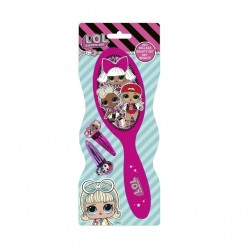 LOL SURPRISE CEPILLO CABELLO + 2 CLIPS SET REGALO
