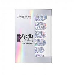 CATRICE HEAVENLY HOLO ADHESIVOS UÑAS 01 XOXO HOLO