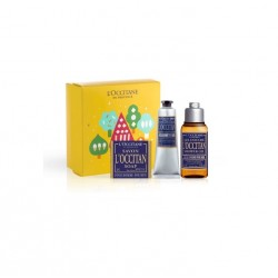 L'OCCITANE EN PROVENCE L'OCCITAN MEN SHOWER GEL 75 ML + JABÓN 50 GR + AFTER SHAVE 30ML SET REGALO