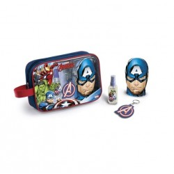 THE AVENGERS EDT 90 ML + GEL DUCHA 300 ML + LLAVERO SET REGALO