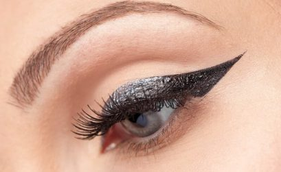 maquillaje delineado cat eye